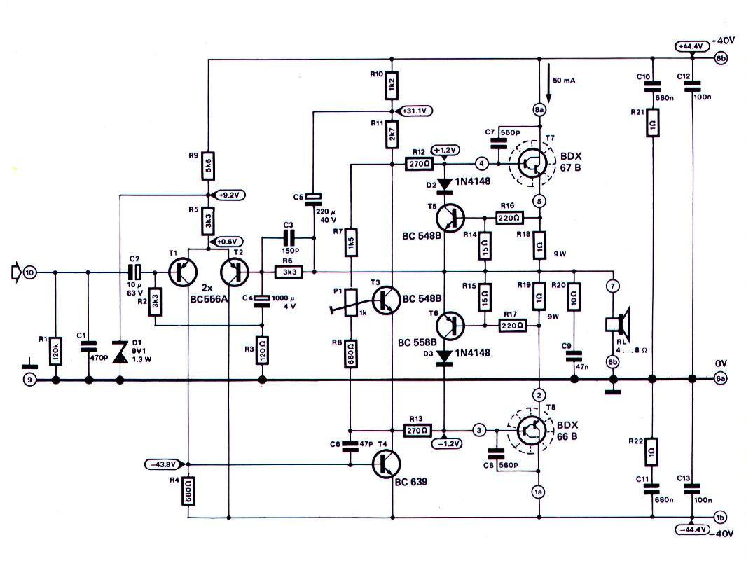 Index Of Dosyalar Elektronik Amfidevreleri 50 W Transistor Amplifier 120 Wattjpeg