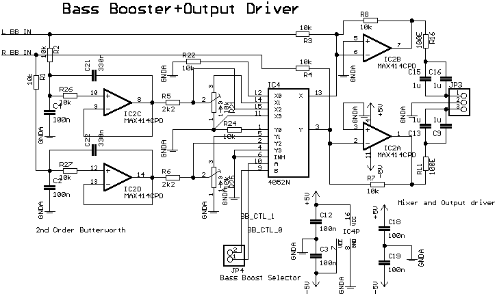 mosfet integrated amplifier