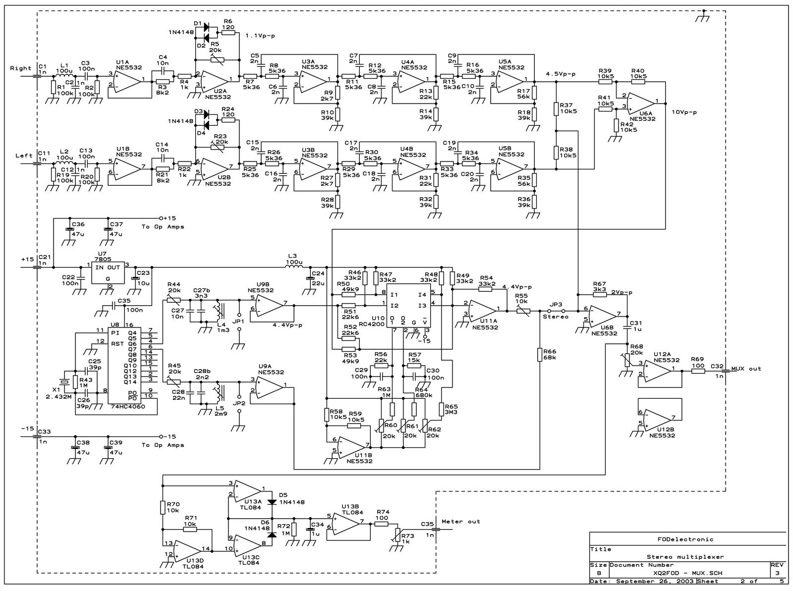 Fm Circuit Page 9 Rf Circuits Nextgr